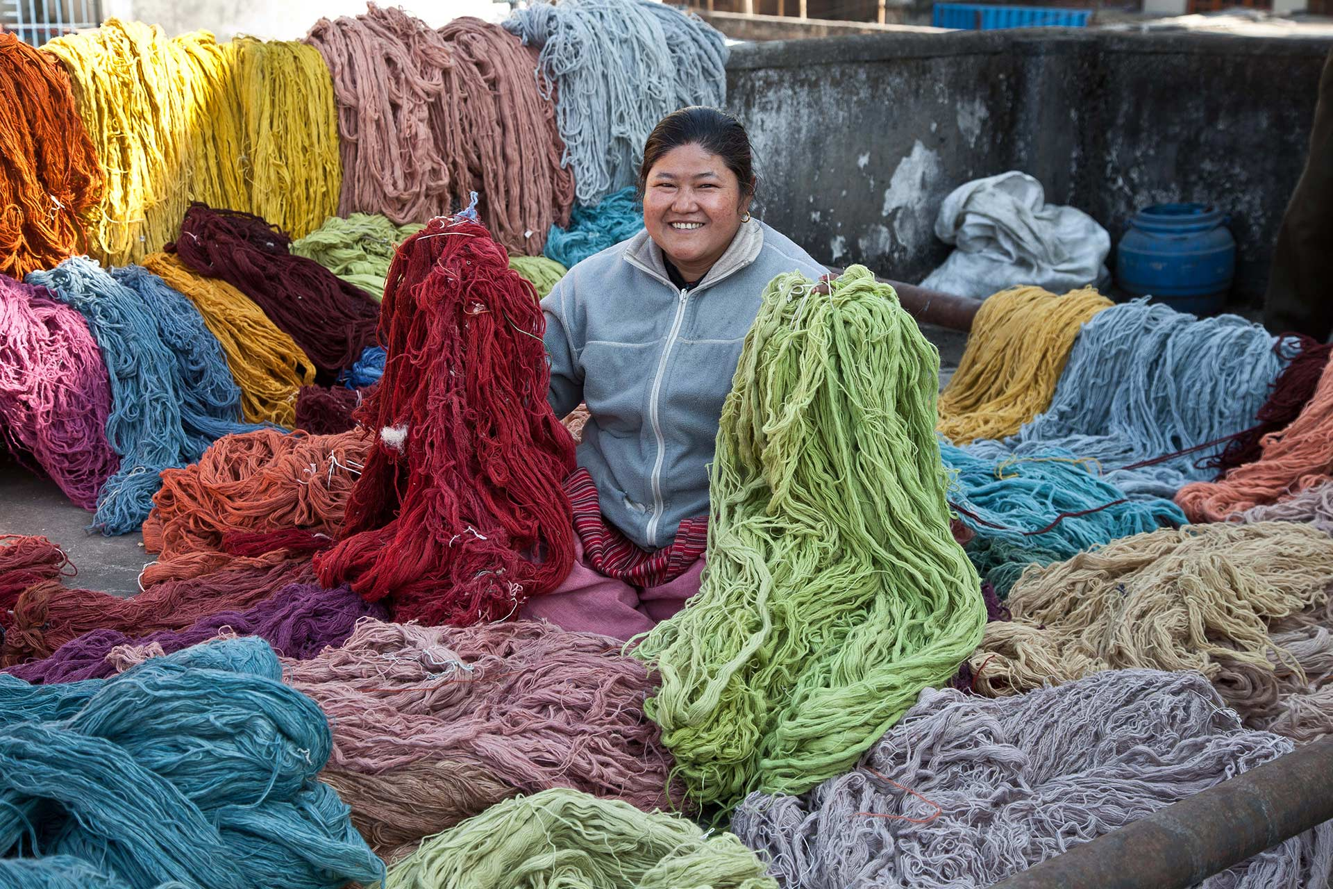 Highland Wool In Various Colours