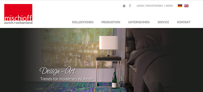 Mischioff neue Website
